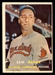 1957 Topps #287  Sam Jones  Front Thumbnail