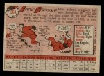 1958 Topps #263  Eddie Bressoud  Back Thumbnail