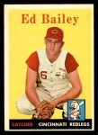 1958 Topps #330  Ed Bailey  Front Thumbnail