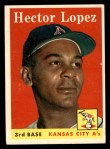 1958 Topps #155  Hector Lopez  Front Thumbnail