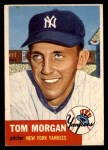 1953 Topps #132  Tom Morgan  Front Thumbnail