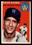 1954 Topps #114  Dean Stone  Front Thumbnail