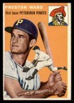 1954 Topps #72  Preston Ward  Front Thumbnail