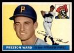 1955 Topps #95  Preston Ward  Front Thumbnail