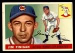 1955 Topps #14  Jim Finigan  Front Thumbnail