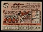 1958 Topps #43  Sal Maglie  Back Thumbnail
