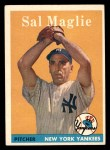 1958 Topps #43  Sal Maglie  Front Thumbnail