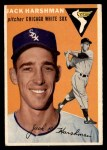 1954 Topps #173  Jack Harshman  Front Thumbnail