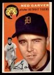 1954 Topps #44  Ned Garver  Front Thumbnail