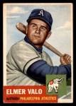 1953 Topps #122  Elmer Valo  Front Thumbnail