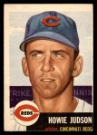 1953 Topps #12  Howie Judson  Front Thumbnail