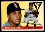 1955 Topps #122  Carl Sawatski  Front Thumbnail