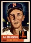 1953 Topps #69  Dick Brodowski  Front Thumbnail
