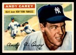 1956 Topps #12  Andy Carey  Front Thumbnail
