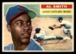 1956 Topps #105 GRY Al Smith  Front Thumbnail