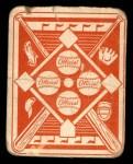 1951 Topps Red Back #48  Eddie Stanky  Back Thumbnail