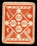 1951 Topps Red Back #21  Larry Jansen  Back Thumbnail