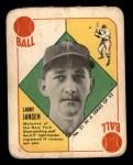 1951 Topps Red Back #21  Larry Jansen  Front Thumbnail