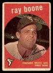 1959 Topps #252  Ray Boone  Front Thumbnail