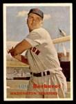 1957 Topps #315  Lou Berberet  Front Thumbnail