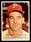 1957 Topps #335  Granny Hamner  Front Thumbnail