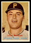 1957 Topps #394  Luis Arroyo  Front Thumbnail