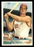 1957 Topps #165  Ted Kluszewski  Front Thumbnail