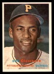1957 Topps #76  Roberto Clemente  Front Thumbnail