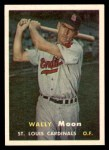 1957 Topps #65  Wally Moon  Front Thumbnail