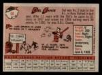1958 Topps #60 WN Del Ennis  Back Thumbnail