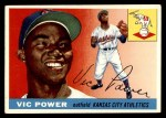 1955 Topps #30  Vic Power  Front Thumbnail