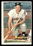 1957 Topps #172  Gene Woodling  Front Thumbnail