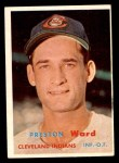 1957 Topps #226  Preston Ward  Front Thumbnail
