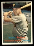 1957 Topps #104  Hank Foiles  Front Thumbnail