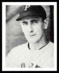 1939 Play Ball Reprint #129  Bill Swift  Front Thumbnail