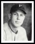 1939 Play Ball Reprint #130  Bill Brubaker  Front Thumbnail