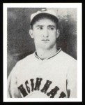 1939 Play Ball Reprint #38  Billy Myers  Front Thumbnail
