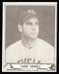 1940 Play Ball Reprint #48  Luke Sewell  Front Thumbnail