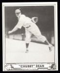 1940 Play Ball Reprint #193  Chubby Dean  Front Thumbnail