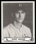 1940 Play Ball Reprint #143  Gene Moore  Front Thumbnail