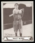 1940 Play Ball Reprint #80  Bill Myers  Front Thumbnail
