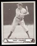1940 Play Ball Reprint #29  Doc Cramer  Front Thumbnail