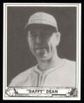 1940 Play Ball Reprint #156  Paul Dean  Front Thumbnail