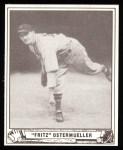 1940 Play Ball Reprint #33  Fritz Ostermueller  Front Thumbnail