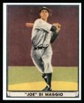 1941 Play Ball Reprint #71  Joe DiMaggio  Front Thumbnail