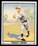 1941 Play Ball Reprint #42  Wally Moses  Front Thumbnail