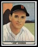 1941 Play Ball Reprint #15  Joe Cronin  Front Thumbnail