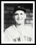 1939 Play Ball Reprint #144  Zeke Bonura  Front Thumbnail