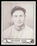 1940 Play Ball Reprint #104  Lloyd Waner  Front Thumbnail
