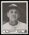 1940 Play Ball Reprint #130  Clyde Milan  Front Thumbnail